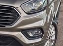 Фото авто Ford Tourneo Custom 1 поколение [рестайлинг], ракурс: передняя часть цвет: сафари