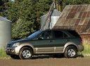 Фото авто Kia Sorento 1 поколение, ракурс: 90 цвет: зеленый