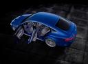 Фото авто Mercedes-Benz AMG GT C190 [рестайлинг], ракурс: сверху цвет: синий