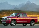 Фото авто Dodge Ram 3 поколение [рестайлинг], ракурс: 45 цвет: красный