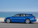 Фото авто Audi S6 C7 [рестайлинг], ракурс: 90 цвет: голубой