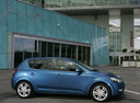 Фото авто Kia Cee'd 1 поколение [рестайлинг], ракурс: 270 цвет: синий