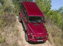 Фото авто Mercedes-Benz G-Класс W463 [3-й рестайлинг], ракурс: сверху цвет: бордовый