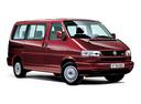 Фото авто Volkswagen Caravelle T4, ракурс: 315 цвет: красный