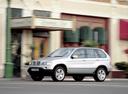 Фото авто BMW X5 E53, ракурс: 45 цвет: серебряный