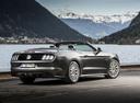 Фото авто Ford Mustang 6 поколение, ракурс: 225 цвет: серый