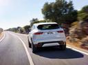 Фото авто Jaguar E-Pace 1 поколение, ракурс: 180 цвет: белый