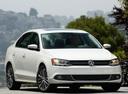 Фото авто Volkswagen Jetta 6 поколение, ракурс: 315 цвет: белый