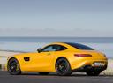 Фото авто Mercedes-Benz AMG GT C190, ракурс: 135 цвет: желтый