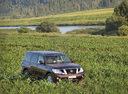 Фото авто Nissan Patrol Y62, ракурс: 315 цвет: пурпурный