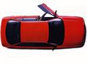 Фото авто Audi 80 8A/B3, ракурс: сверху цвет: красный