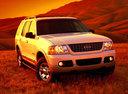 Фото авто Ford Explorer 3 поколение, ракурс: 315 цвет: белый