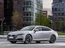 Фото авто Volkswagen Arteon 1 поколение, ракурс: 45 цвет: серый