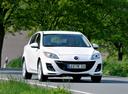 Фото авто Mazda 3 BL, ракурс: 315 цвет: белый