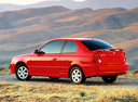 Фото авто Hyundai Accent LC [рестайлинг], ракурс: 135 цвет: красный