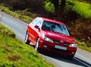 Фото авто Nissan Almera N16, ракурс: 315 цвет: красный