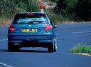 Фото авто Peugeot 206 1 поколение [рестайлинг], ракурс: 180 цвет: синий