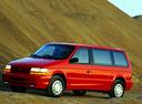 Фото авто Dodge Caravan 2 поколение, ракурс: 45