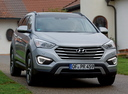 Фото авто Hyundai Santa Fe DM, ракурс: 315 цвет: серебряный