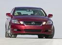 Фото авто Lexus GS 3 поколение [рестайлинг],  цвет: бордовый