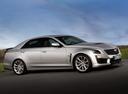 Фото авто Cadillac CTS 3 поколение, ракурс: 315 цвет: серый