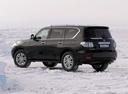 Фото авто Nissan Patrol Y62, ракурс: 135 цвет: черный