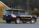 Фото авто Cadillac Escalade 4 поколение, ракурс: 225 цвет: черный