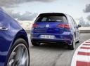 Фото авто Volkswagen Golf 7 поколение [рестайлинг], ракурс: 180 цвет: синий