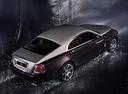Фото авто Rolls-Royce Wraith 2 поколение, ракурс: 225 цвет: бордовый