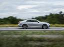 Фото авто Audi A5 2 поколение, ракурс: 270 цвет: серебряный