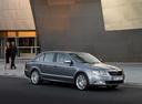 Фото авто Skoda Superb 2 поколение, ракурс: 315 цвет: серый