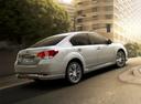 Фото авто Subaru Legacy 5 поколение [рестайлинг], ракурс: 225 цвет: белый