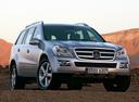 Фото авто Mercedes-Benz GL-Класс X164, ракурс: 315 цвет: серебряный