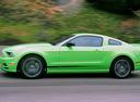 Фото авто Ford Mustang 5 поколение [2-й рестайлинг], ракурс: 90 цвет: салатовый