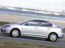 Фото авто Mazda 3 BK [рестайлинг], ракурс: 90 цвет: серебряный