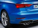 Фото авто Audi A3 8V [рестайлинг], ракурс: задняя часть цвет: синий