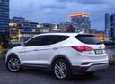 Фото авто Hyundai Santa Fe DM [рестайлинг], ракурс: 135 цвет: белый