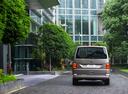 Фото авто Volkswagen Multivan T6, ракурс: 180 цвет: бежевый