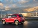 Фото авто Mitsubishi ASX 1 поколение [2-й рестайлинг], ракурс: 135 цвет: красный