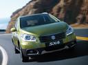 Фото авто Suzuki SX4 2 поколение, ракурс: 315 цвет: салатовый