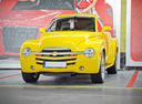 Фото авто Chevrolet SSR 1 поколение,  цвет: желтый