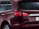 Фото авто Zotye T600 1 поколение, ракурс: задние фонари цвет: вишневый