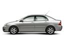 Фото авто Toyota Corolla E130 [рестайлинг], ракурс: 90 цвет: серебряный