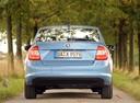 Фото авто Skoda Rapid 3 поколение, ракурс: 180 цвет: голубой