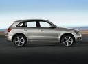 Фото авто Audi Q5 8R [рестайлинг], ракурс: 270 цвет: серый