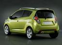 Фото авто Chevrolet Spark M300, ракурс: 135 цвет: салатовый