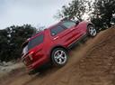 Фото авто Ford Explorer 5 поколение, ракурс: 225 цвет: красный