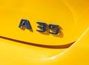 Фото авто Mercedes-Benz A-Класс W177/V177, ракурс: шильдик цвет: желтый