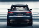 Фото авто Porsche Cayenne PO536, ракурс: 180 цвет: голубой