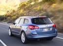 Фото авто Opel Astra J, ракурс: 135 цвет: голубой